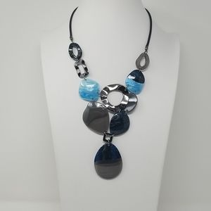 Jewelry - Fashion Statement cellulose acetate chunky set